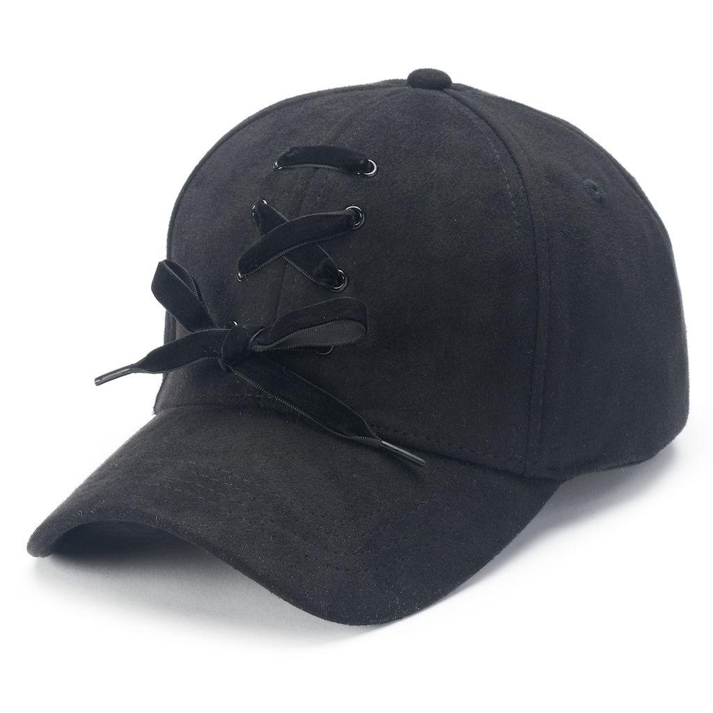 879ca82fcf5 Mudd® Shoelace Baseball Cap