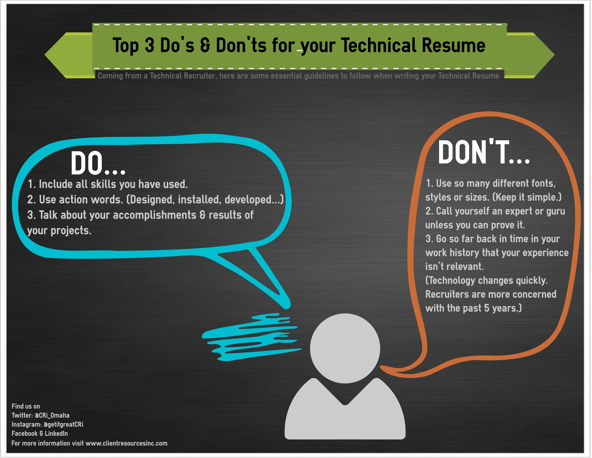 Coming from a Technical Recruiter, here are some essential ...