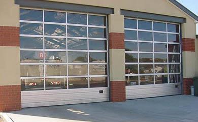 Porte de garage sectionnelle industrielle