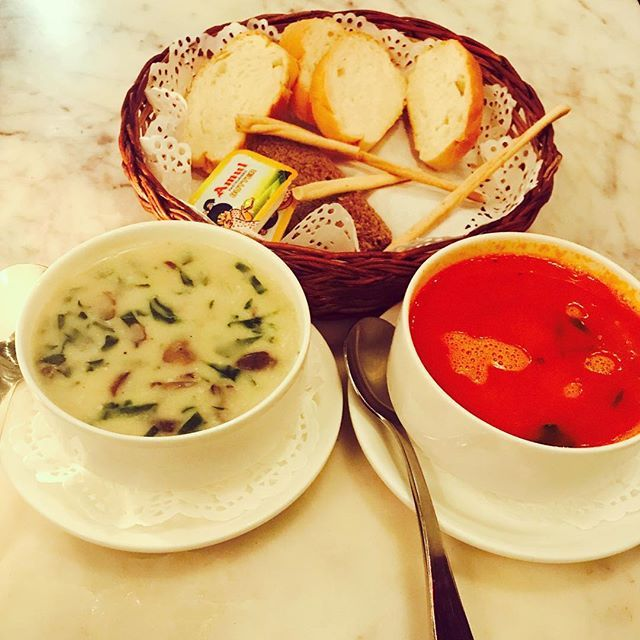Whats Your Poison For Winters Hot Soups Duh On The Table Are L R