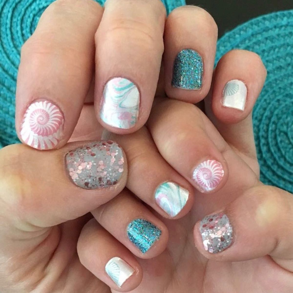 Seascape Blue Lagoon Capitol Hill | Color street nails ...