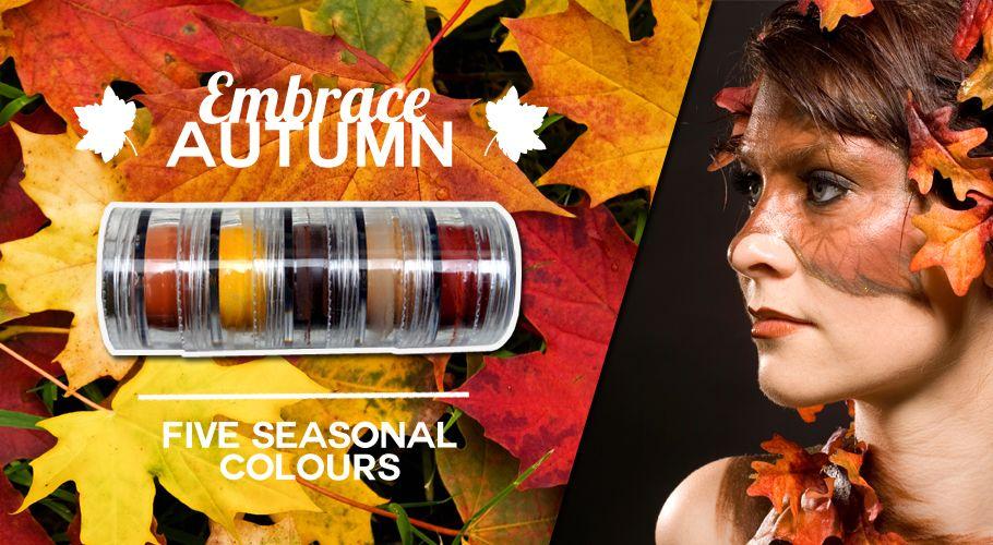 Vegan Faces Natural Face Paint - Autumn Stack