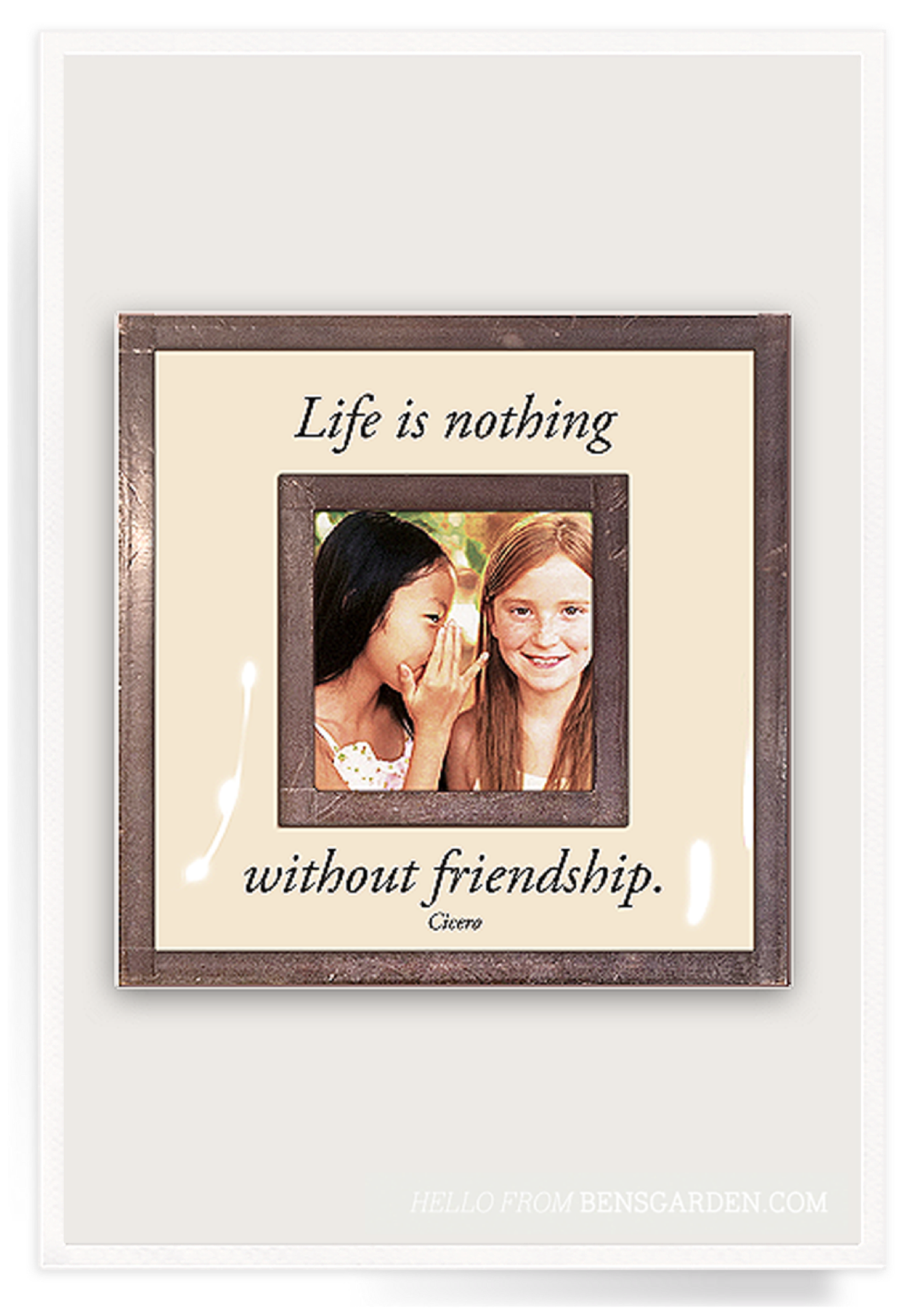 Life Is Nothing Without Friendship 3\