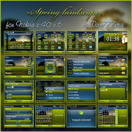 Beautiful spring landscape theme by dar777ina for your nokia s40 beautiful spring landscape theme by dar777ina for your nokia s40 device check site urtaz Gallery
