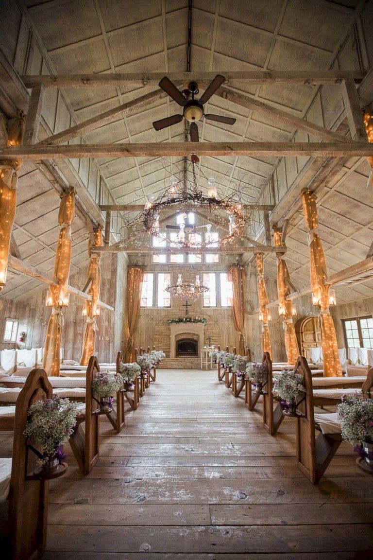 37 Sweet Winter Vintage Wedding Decoration Ideas Vintage Wedding Venues Wedding Venue Decorations Barn Wedding