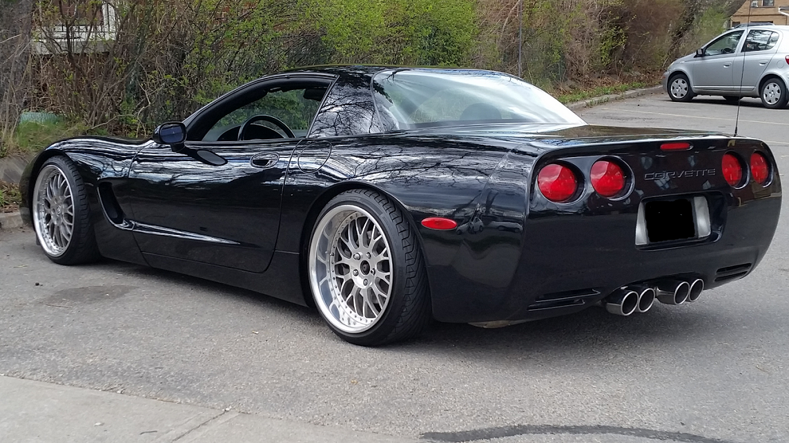 2000 corvette frc 6 speed z51 black on black. Black Bedroom Furniture Sets. Home Design Ideas