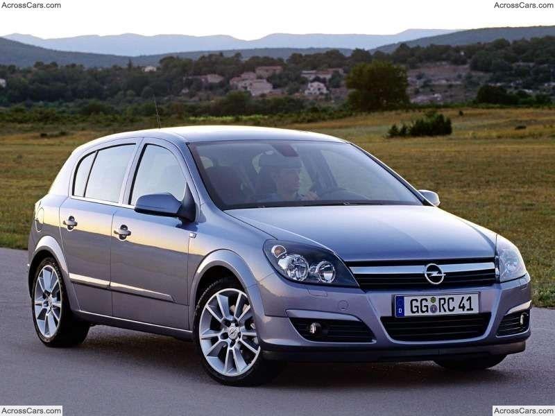 Opel Astra 2004 Opel Astra Autos