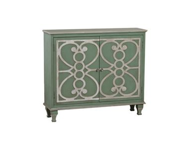 Shop for Powell Furniture Laslo 2 Door Hall Console - Sea Green, 958-228, and other Living Room Tables at Union Furniture in Union,Missouri. The Laslo 2-door hall console is a stylish addition to your entryway or any room in your home. With hidden shelf for organization, the on-trend colors will provide beauty and function.