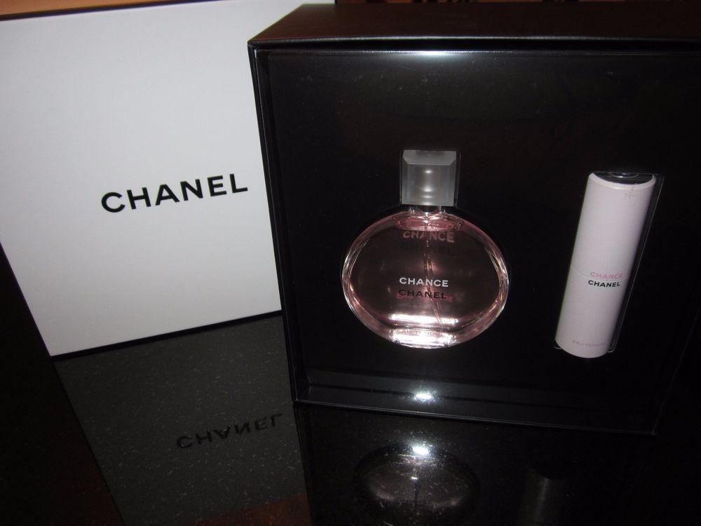 aa9c681ad CHANEL CHANCE EAU TENDRE Eau de Toilette Twist & Spray Women's 2pc Gift Set  NIB #Chanel