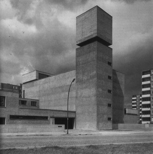 #brutalist #architecture betonbabe: WERNER DÜTTMANN ST. AGNES CHURCH IN BERLIN KREUZBERG, 1964-67