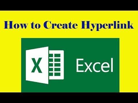How To Create Hyperlink In Excel sheet Spread Sheet Learning