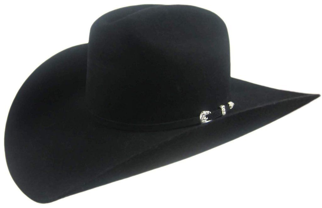 7 1//8 4 1//4 Crown Stetson 4X Duncan Black Size