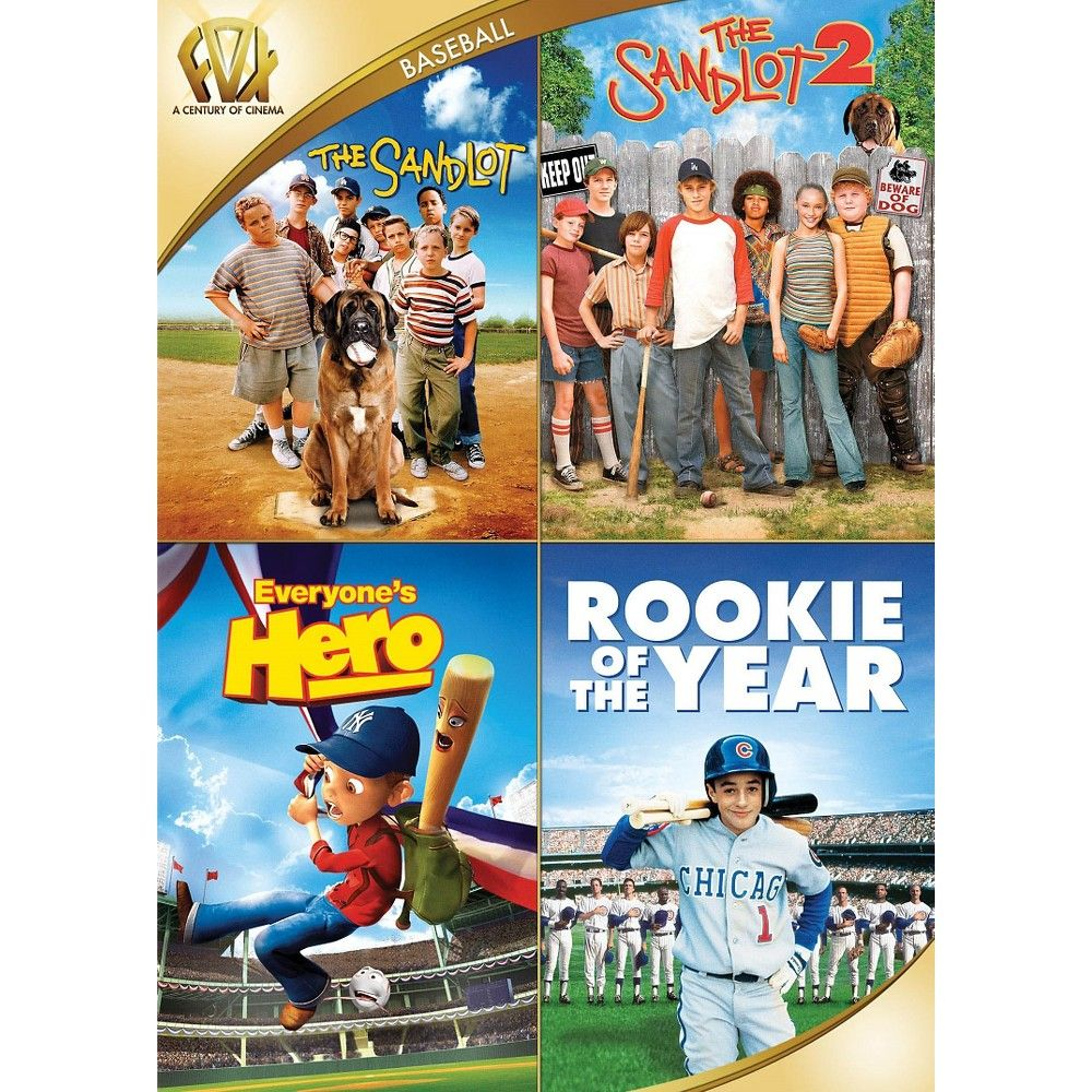 The Sandlot/The Sandlot 2/Everyone's Hero/Rookie of the Year