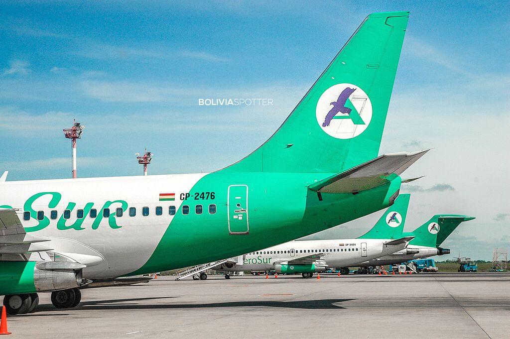 Bolivia Spotter © Airline logo, Aviation, Aircraft