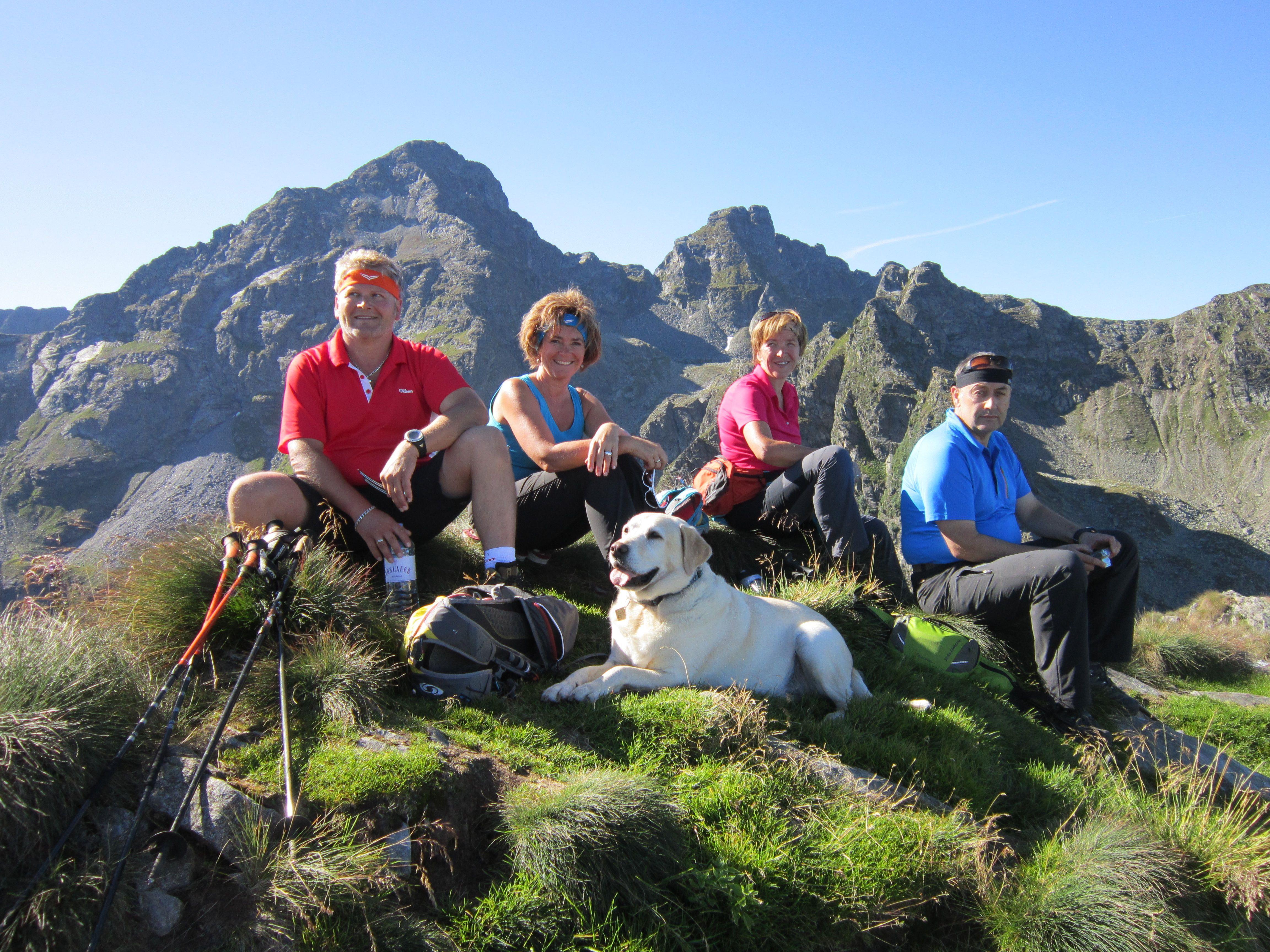 Wir lieben die Berge, wir lieben Österreich