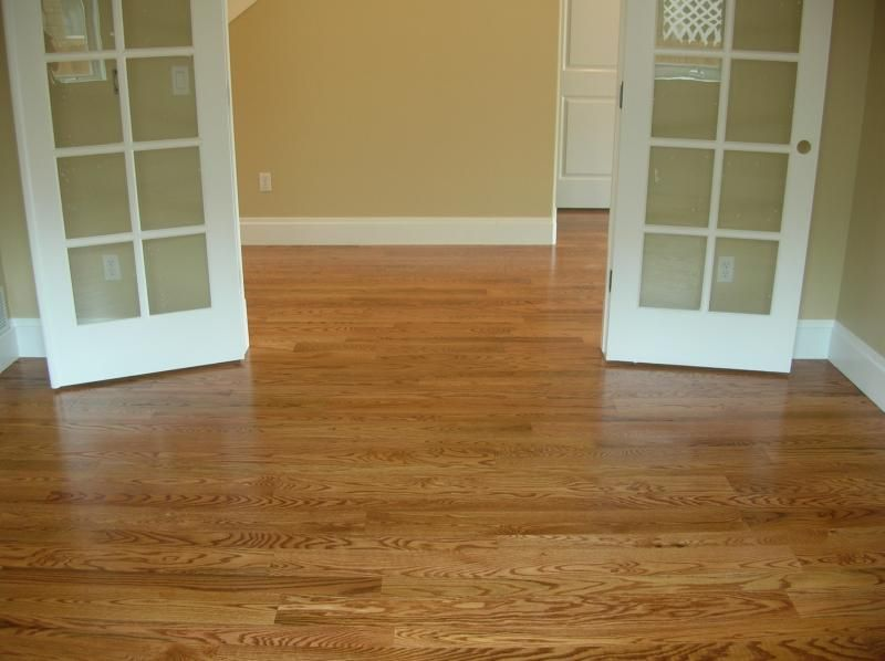 Red Oak With Light Cherry Stain