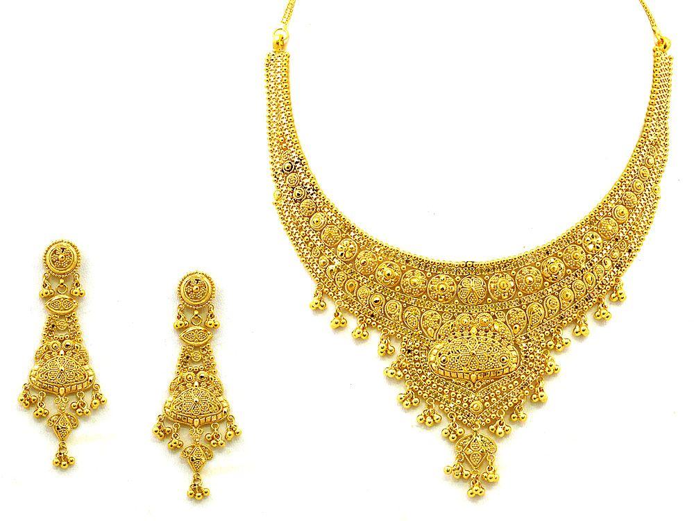 Indian 22kt Gold Jewellery Bridal Jewelry Sets Bridal Jewelry