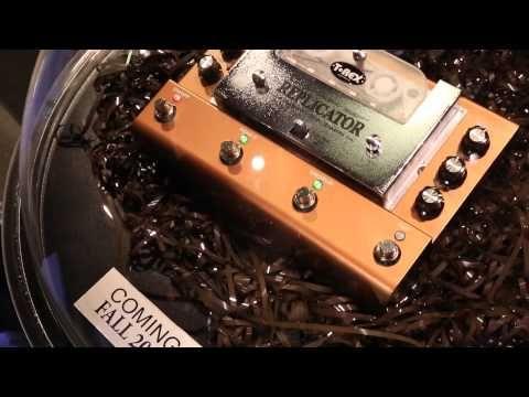 Musikmesse 2015: T-Rex Replicator - Tape Delay Pedal - http://www.delamar.de/musik-equipment/t-rex-replicator-27907/?utm_source=Pinterest&utm_medium=post-id%2B27907&utm_campaign=autopost