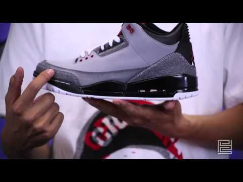 best service 7569b d8418 Nike Air Jordan 3 III Retro 136064-003 stealth varsity red light graphite  black - PYS.com