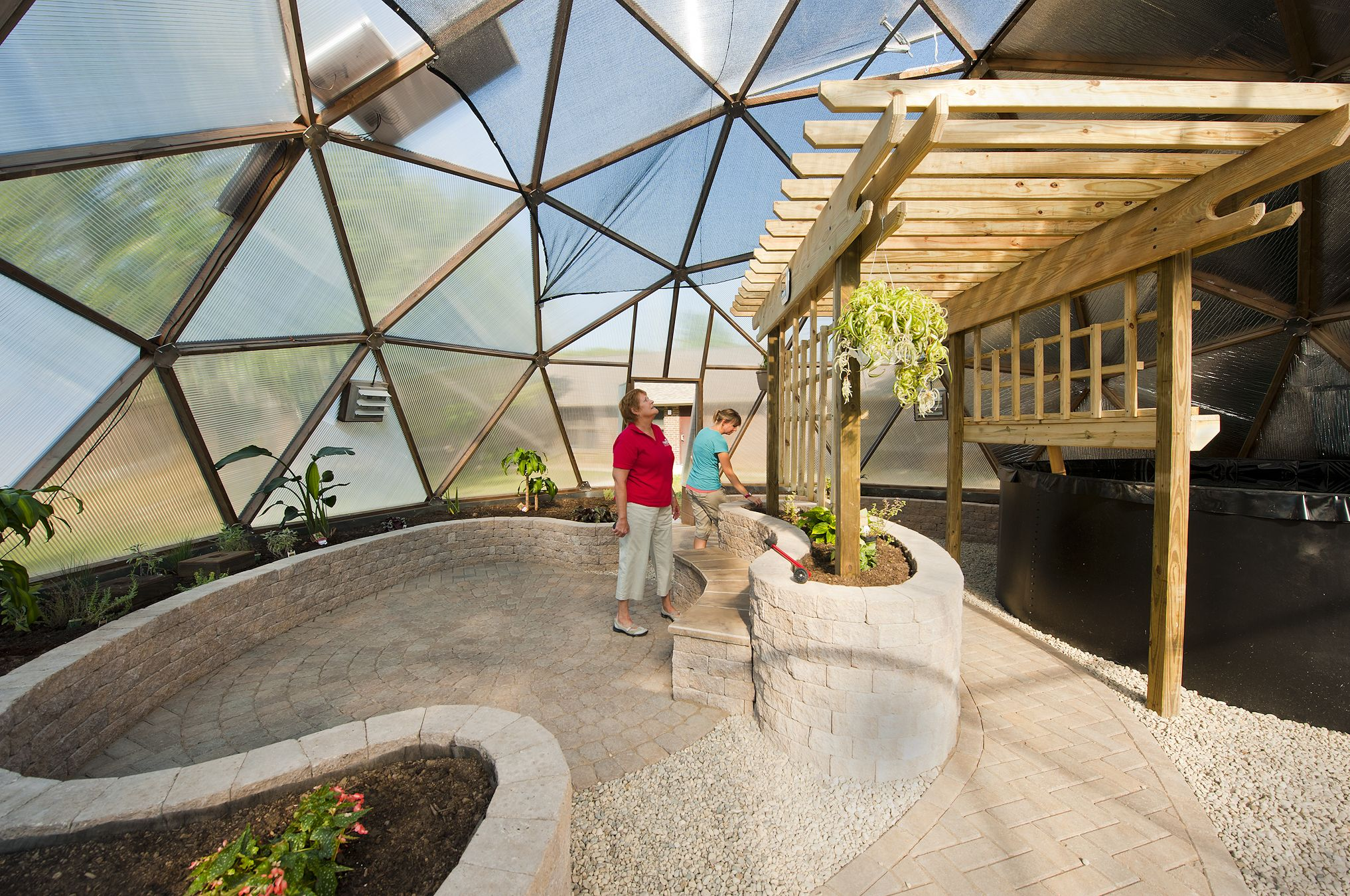 Geodome House Color Geo Dome Greenhouse Dome1