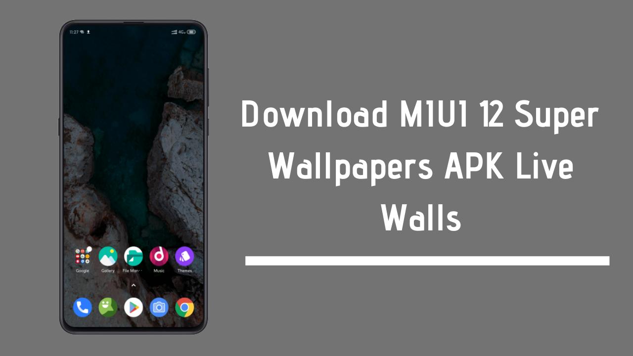 Download Miui 12 Super Wallpapers Apk Live Walls In 2020 Wallpaper Live Wallpapers Stock Wallpaper