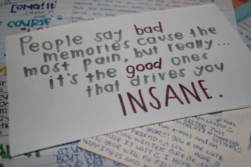 good memories quote