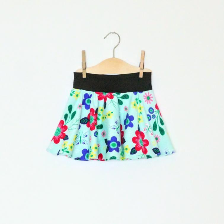 Free Sewing Pattern: Baby / Toddler Circle Skirt | Free Sewing ...