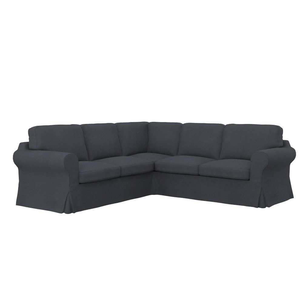 Soferia Ikea Ektorp 2 2 Corner Sofa Cover Eco Leather Grey Find Out More About The Great Product At Th With Images Sofa Covers Corner Sofa Covers Corner Sofa