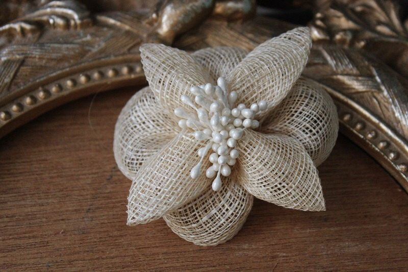 Very cute ivory color flowers clip Flower clip, Ivory