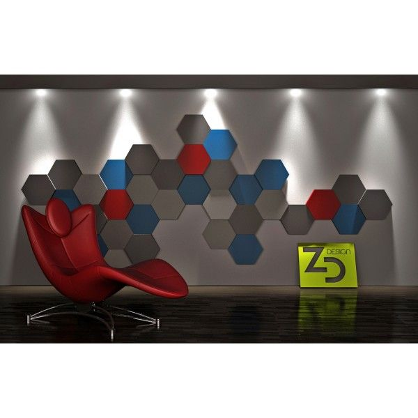 ZD Design HEXA - Panel gipsowy 3D >> http://lemonroom.pl/panele-3d/469-zd-design-hexa-panel-gipsowy-3d-.html