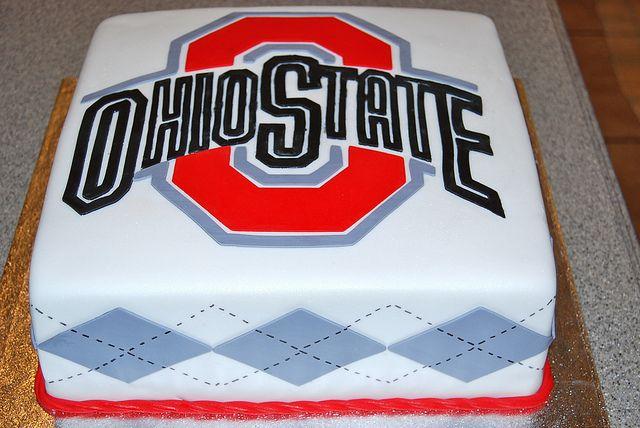 Ohio State Grooms Cake Ohio State Cake Buckeye Dessert Cake