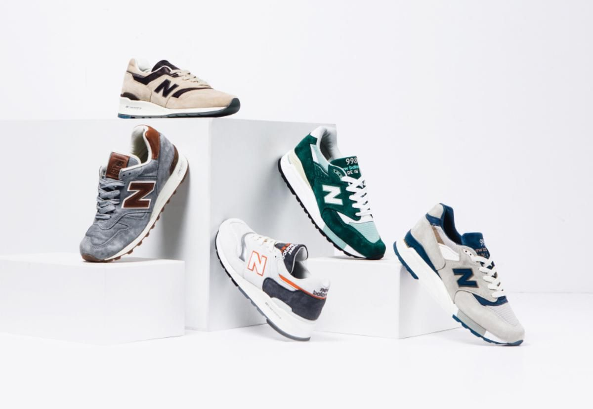 "New Balance Launches Spring 2016 ""Explore by Sea"" Pack. New England craftsmanship on full display"
