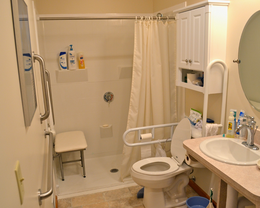 Charmant Find Universal Design Bathroom Info And Save Up To Off On Handicap Bathroom  Design Plans, Handicapped Bathrooms Fixtures, Disabled Bathroom Flooring  And ...
