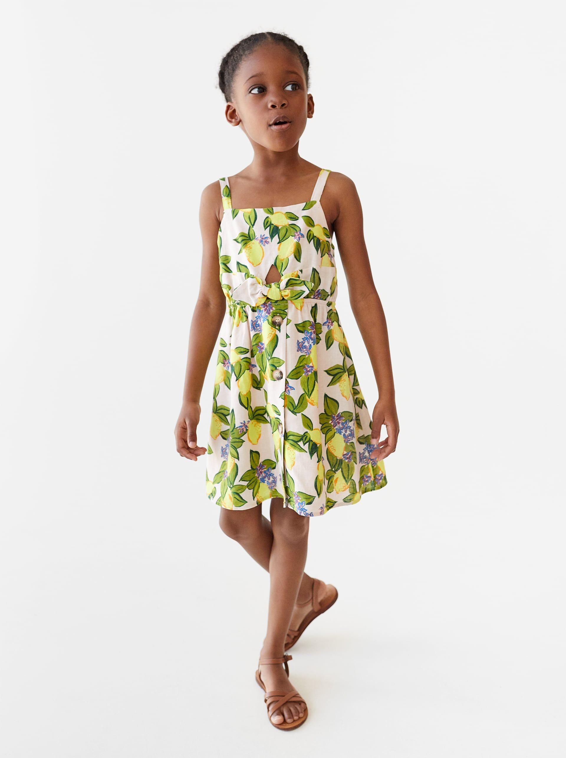 61aac81c LEMON DRESS - NEW IN-GIRL | 5 - 14 yrs-KIDS | ZARA United States ...