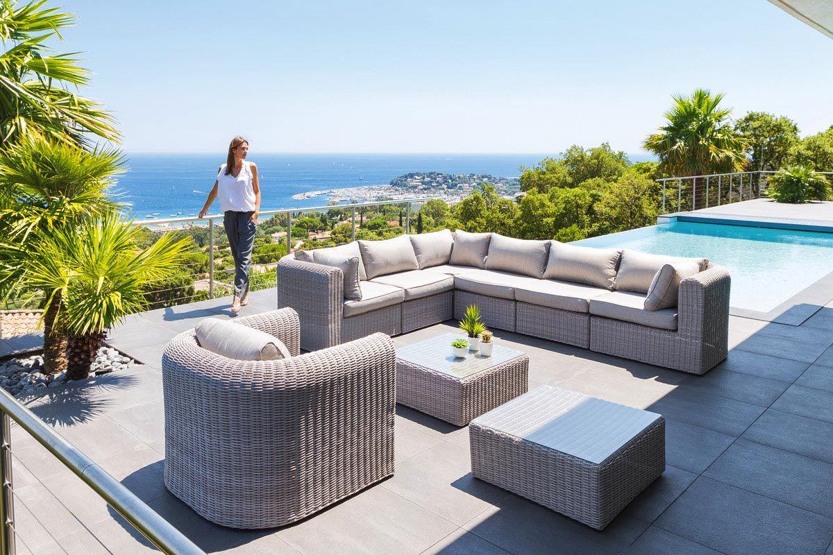 Salon De Jardin Modulable Libertad Grege Outdoor Furniture