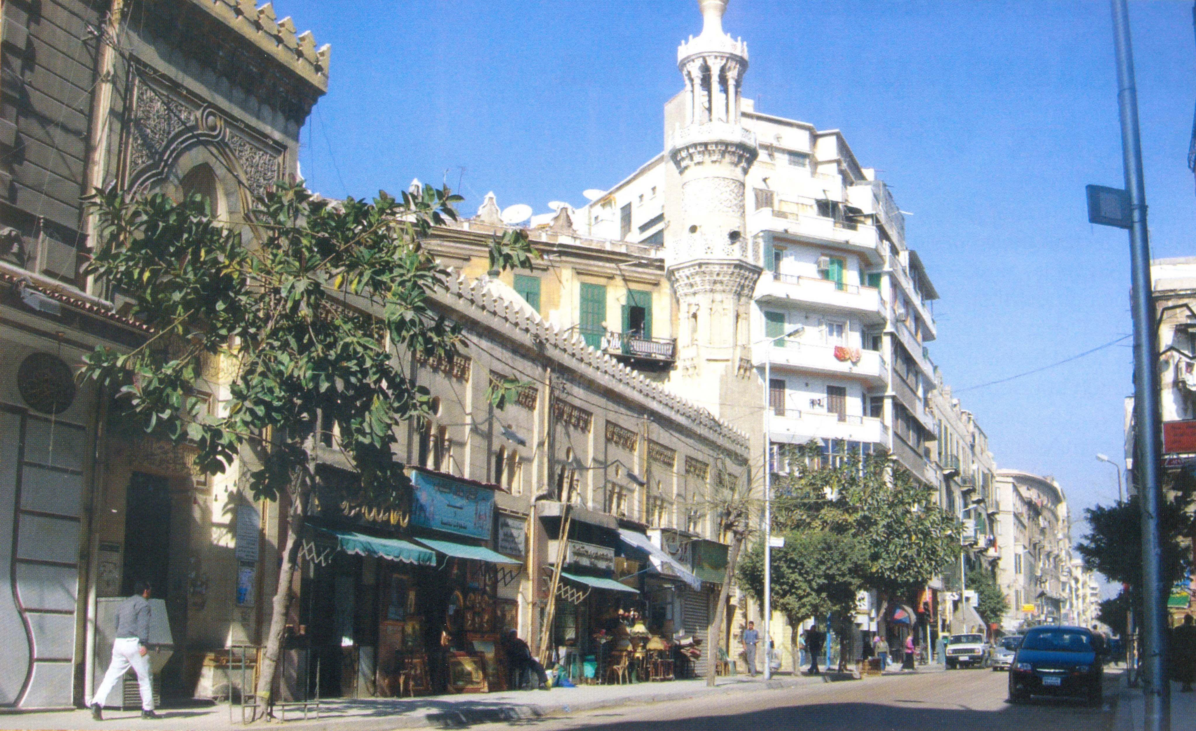منطقة مسجد العطارين فى الاسكندرية فترة التسعينيات