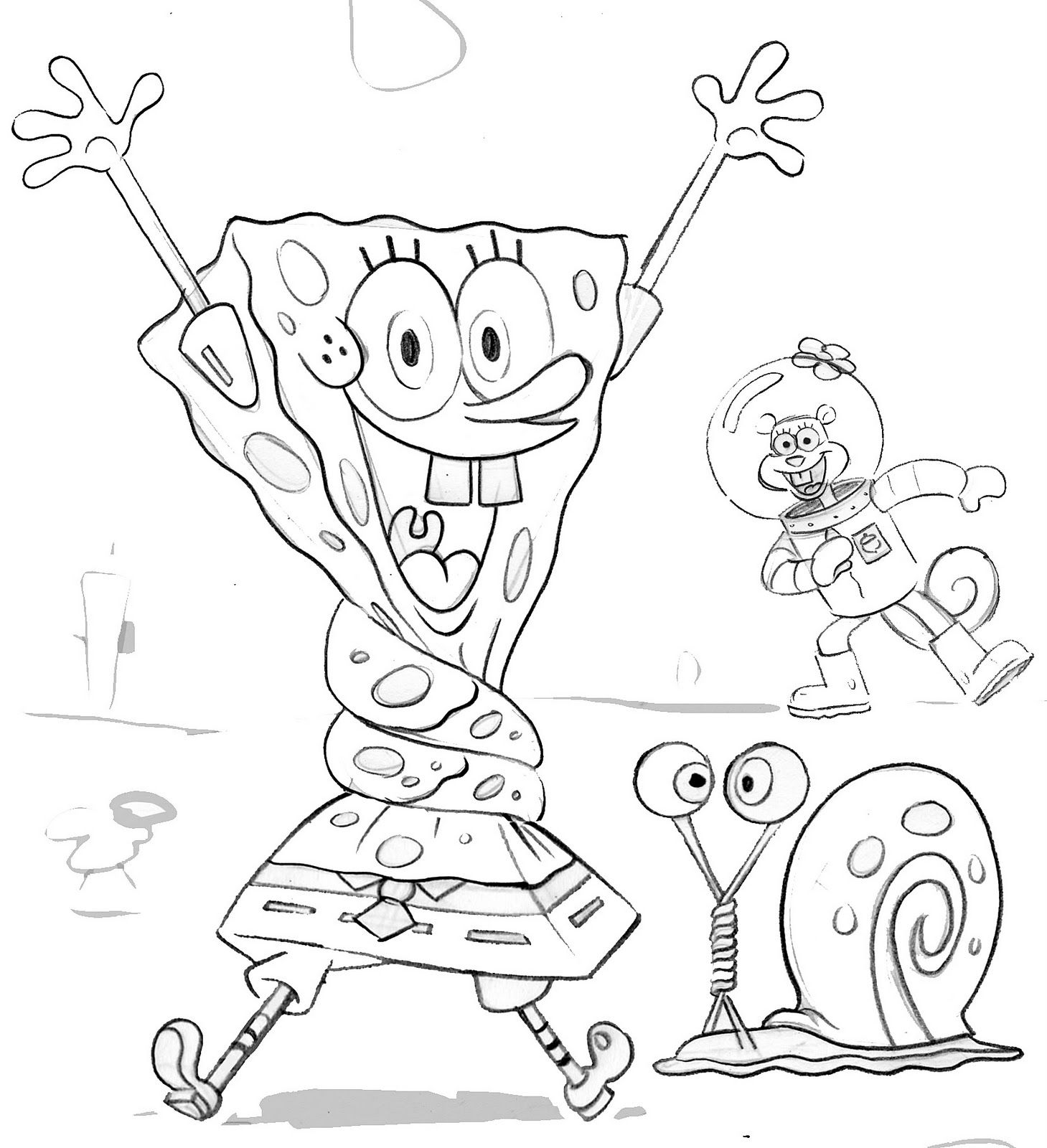 Find thousands of spongebob coloring pages, spongebob squarepants ...
