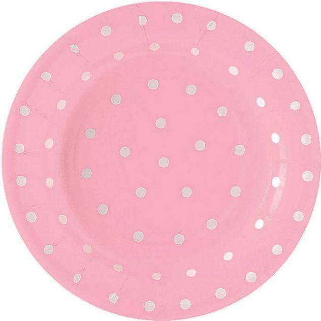 Pink Polka dot plates  sc 1 st  Pinterest & Pink Polka dot plates | pink | Pinterest | Pink plates Dot dot and ...