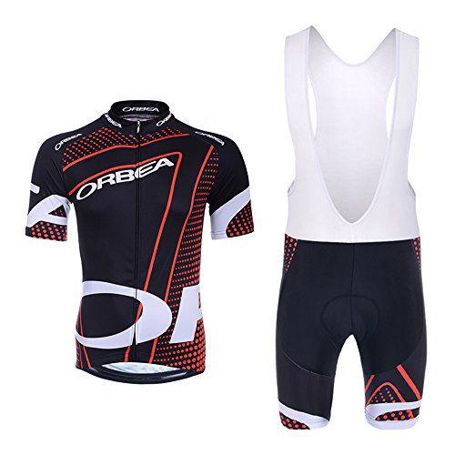 Pro Team Cycling Jersey With Bib Shorts Set Bike Bicycle Shirt Top