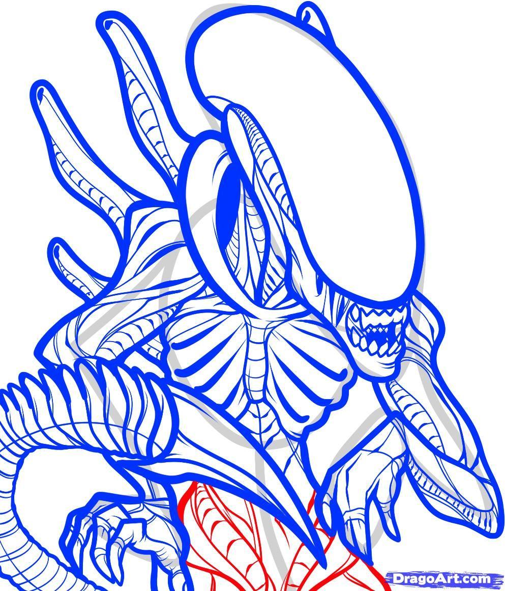 Pin Di Martina Lo Bosco Su Alien Vs Predator Cose Da Disegnare Disegni Tatuaggi