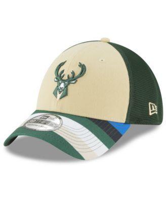 sports shoes 0287f 88862 New Era Milwaukee Bucks City Series 39THIRTY Cap - Green S M