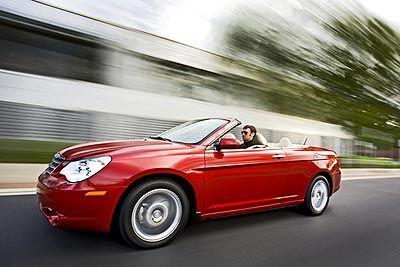 2008 Chrysler Sebring Convertible First Drive Sebring