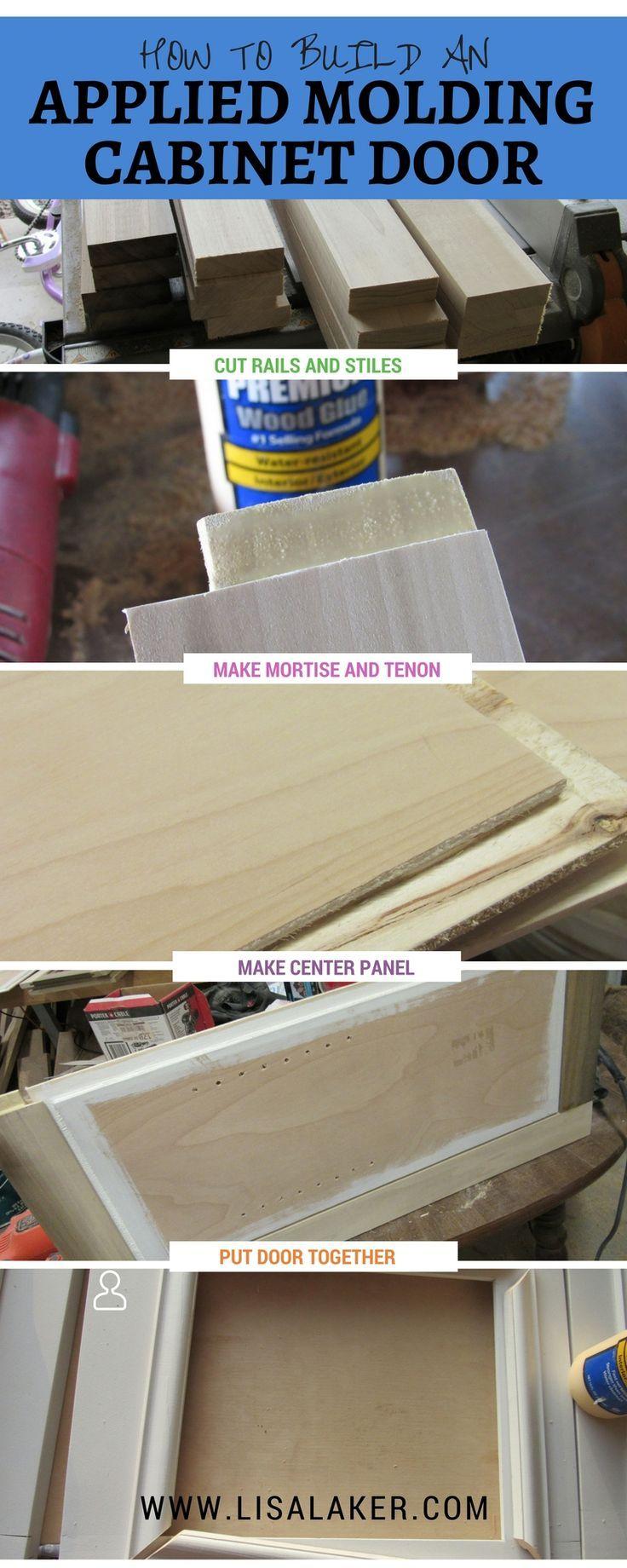 How to build a cabinet door dress up your shaker door by adding how to build a cabinet door dress up your shaker door by adding applied molding eventshaper