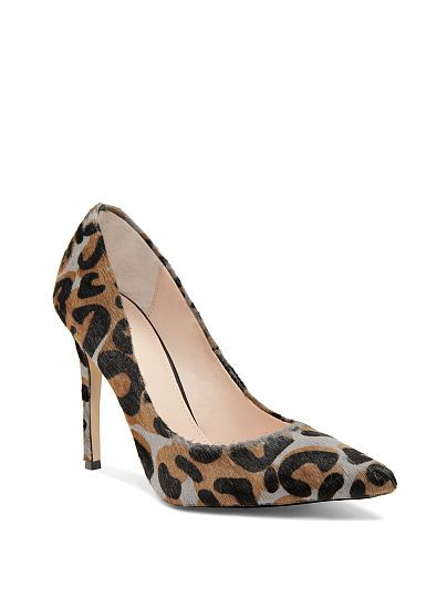 Pointed-toe Pump VS Collection Camo Leopard - Come to my house and let's play!