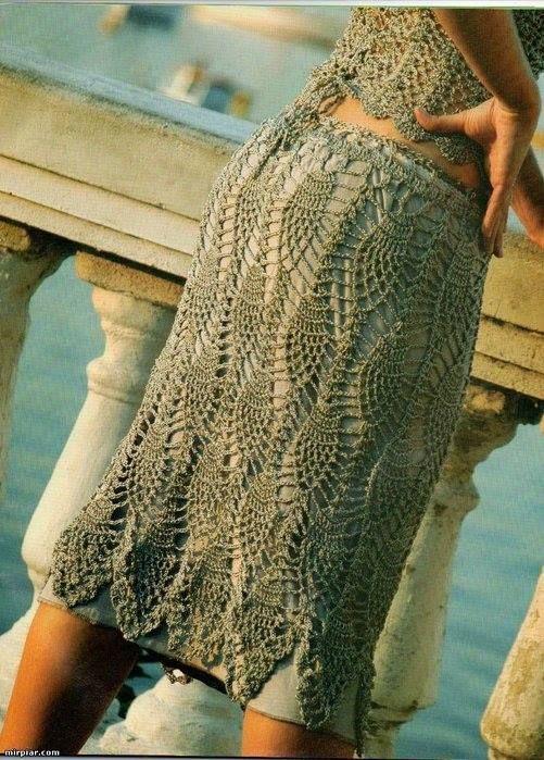 Patron de Falda | 1 Patrones crochet ropa adulto | Pinterest ...