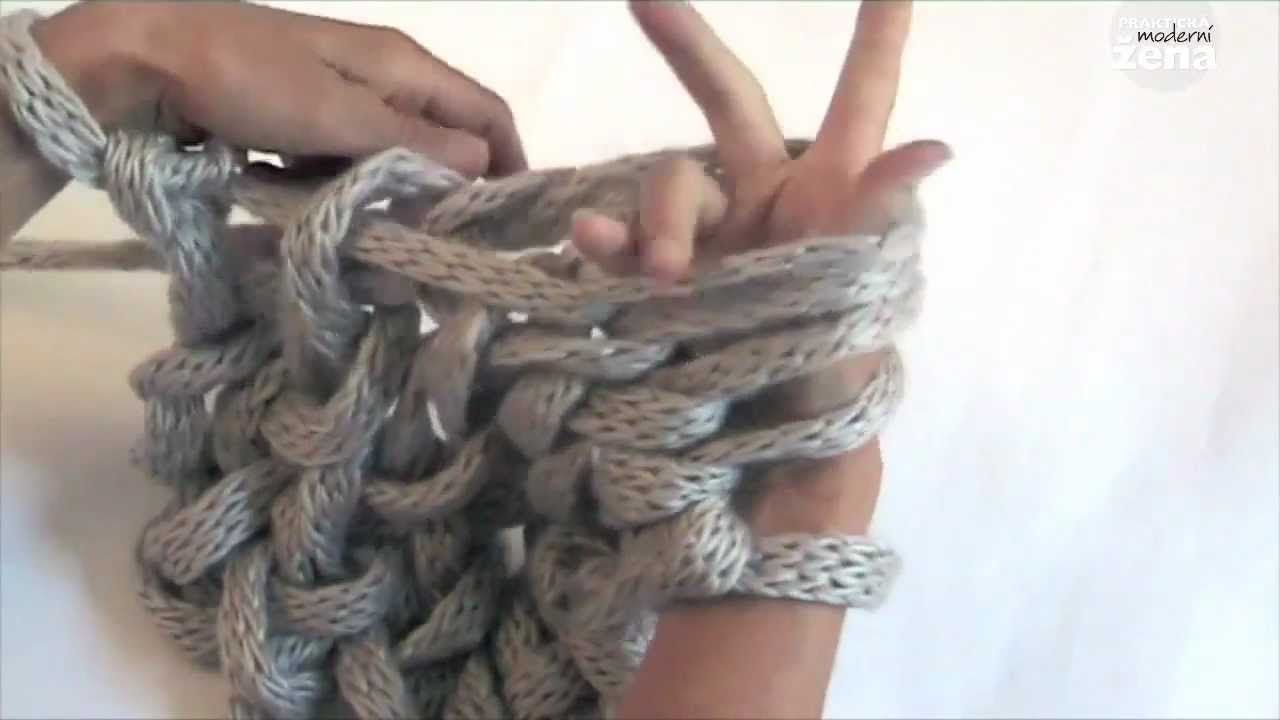 Arm Knitting Step By Step : The best arm knitting tutorial weave