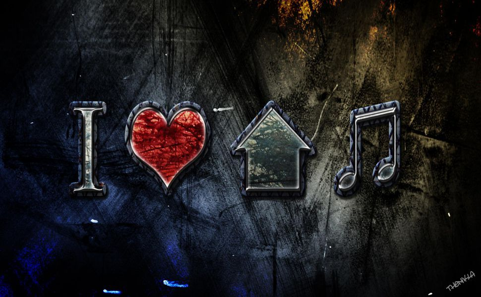 Love House Music Hd Wallpaper Music Wallpaper House Music House Music Artists