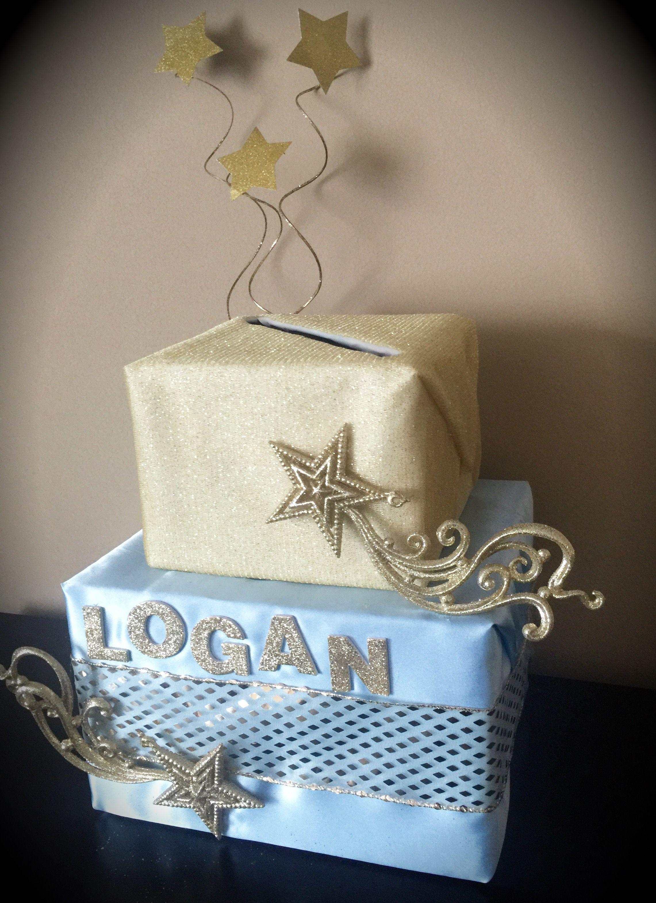 baby shower card box