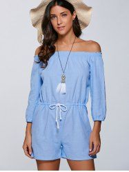 SHARE & Get it FREE | Off The Shoulder Drawstring RomperFor Fashion Lovers only:80,000+ Items • New Arrivals Daily • Affordable Casual to Chic for Every Occasion Join Sammydress: Get YOUR $50 NOW!