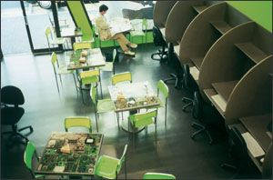 2029062 Cool internet cyber cafe interior design in New Zealand
